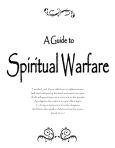 A Guide to Spiritual Warfare