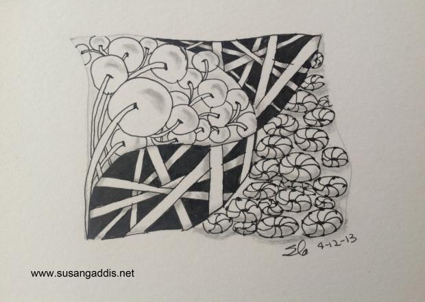 Zentangle by Susan Gaddis